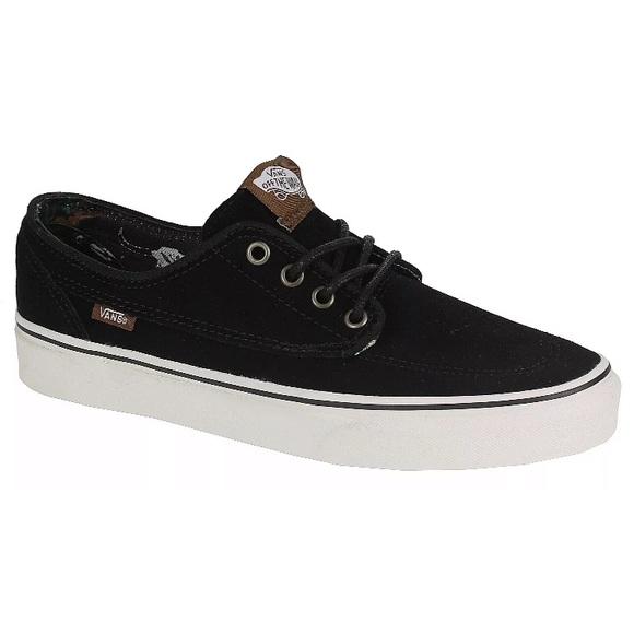 66b7dea37e Vans brigata black desert tribe suede sneaker shoe